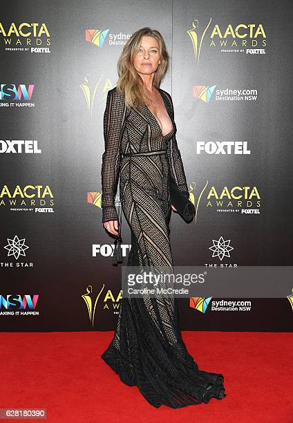 Tammy MacIntosh arrives ahead of the 6th AACTA Awards Presented by Foxtel at The Star on December 7 2016 in Sydney Australia