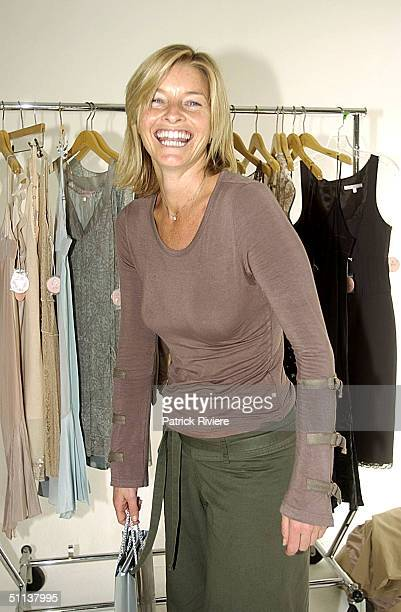 Tammy MacIntosh at New Yorkbased New Zealand Fashion Designer Rebecca Taylor's previewed new collection shown to a small group of Australian...