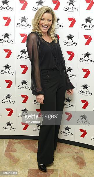 Tammy McIntosh attends the party to celebrate 400 episodes of popular Australian soap All Saints at The Astra Bar Star City on July 25 2007 in Sydney...
