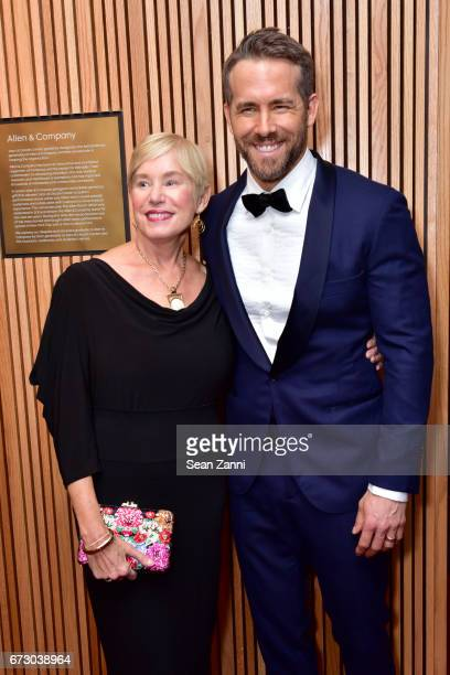 Tammy Reynolds and Ryan Reynolds attend the 2017 TIME 100 Gala at Jazz at Lincoln Center on April 25, 2017 in New York City.
