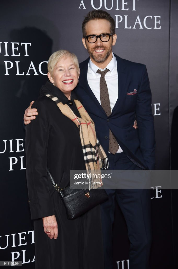"""A Quiet Place"" New York Premiere : Nyhetsfoto"