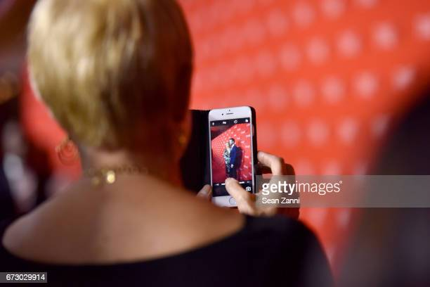 Tammy Reynolds photographs Blake Lively and Ryan Reynolds at the 2017 TIME 100 Gala at Jazz at Lincoln Center on April 25, 2017 in New York City.
