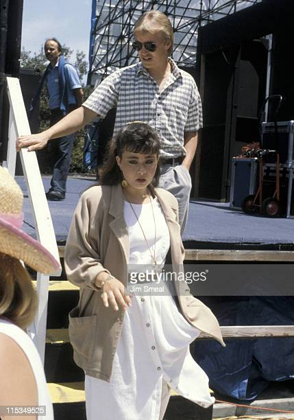 Tammy Sue Bakker during Tammy Sue Bakker at a Taping of The Sally Jesse Raphael Show at Sea World in San Diego California United States