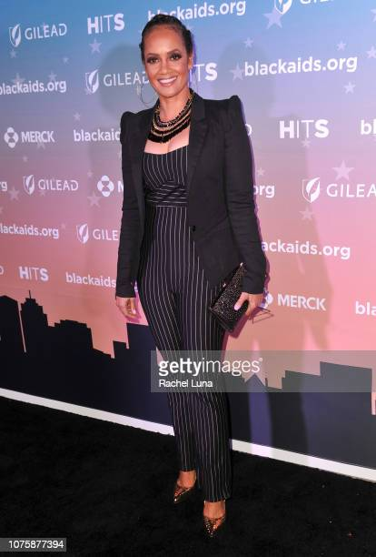 Tammy Townsend attends the Black AIDS Institute's 2018 Heroes in The Struggle Gala at California African American Museum on December 01 2018 in Los...