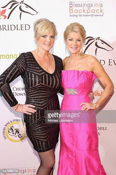 Tammy York Day and Tonya York Dees attend the Unbridled Eve Gala for the 139th Kentucky Derby at The Galt House Hotel Suites' Grand Ballroom on May 3...
