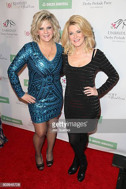 Tammy YorkDay and Tonya YorkDees attend the 2016 Unbridled Eve Derby Prelude Party at The London Hotel on January 7 2016 in West Hollywood California
