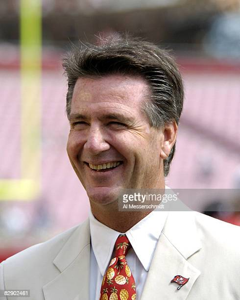 Tampa Bay Buccaneers general manager Bruce Allen is on the sidelines before play against the Buffalo Bills September 18 2005 in Tampa