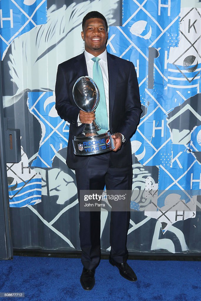 The 2015 Pepsi Rookie Of The Year Award Ceremony And Pharrell Concert At Pepsi Super Friday Night At Pier 70 In San Francisco