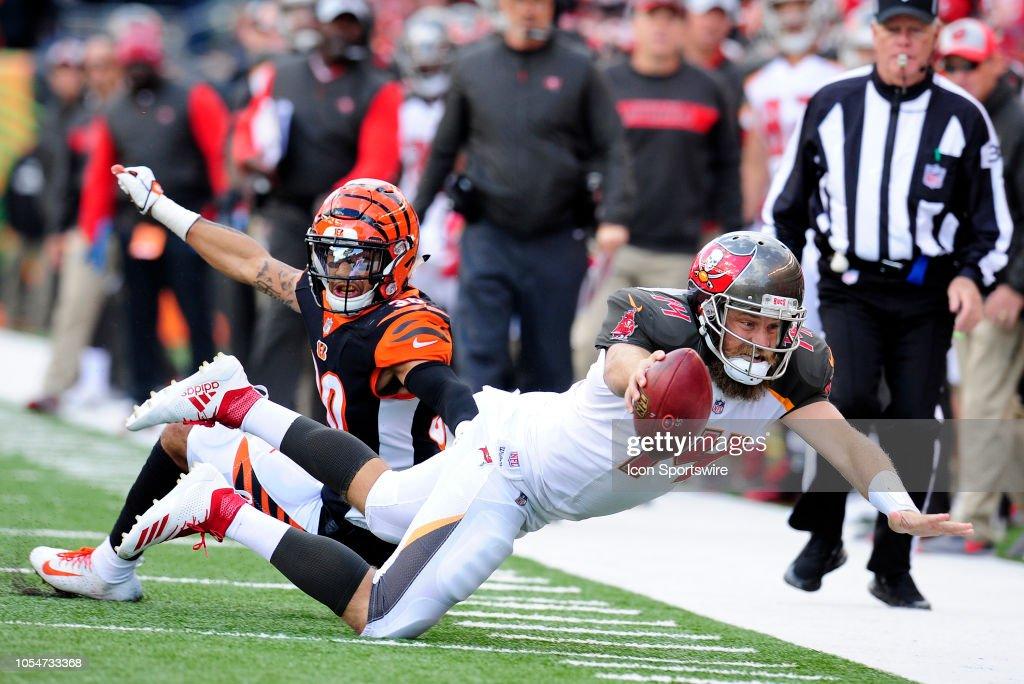 NFL: OCT 28 Buccaneers at Bengals : News Photo