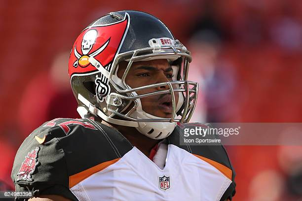 Tampa Bay Buccaneers running back Doug Martin before a week 11 NFL game between the Tampa Bay Buccaneers and the Kansas City Chiefs on November 20...