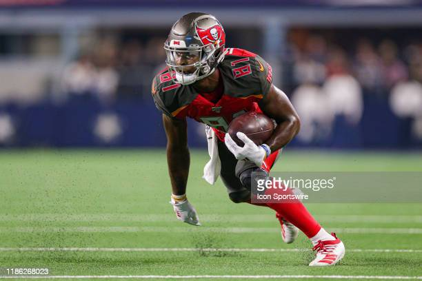 Tampa Bay Buccaneers wide receiver Anthony Johnson makes a reception during the preseason game between the Tampa Bay Buccaneers and Dallas Cowboys on...