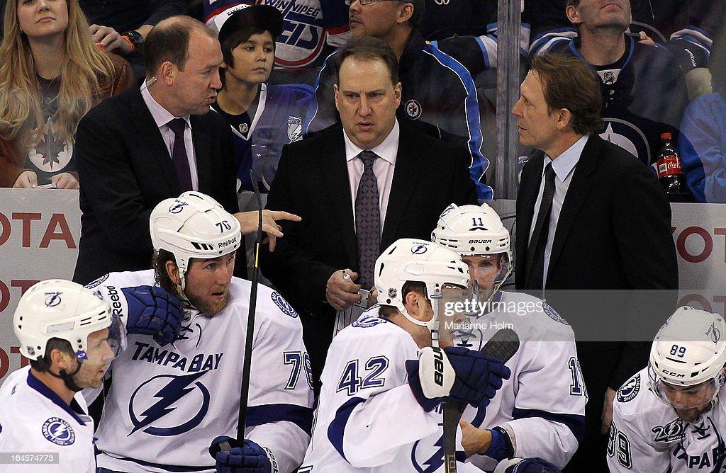 Tampa Bay Lightning v Winnipeg Jets : News Photo
