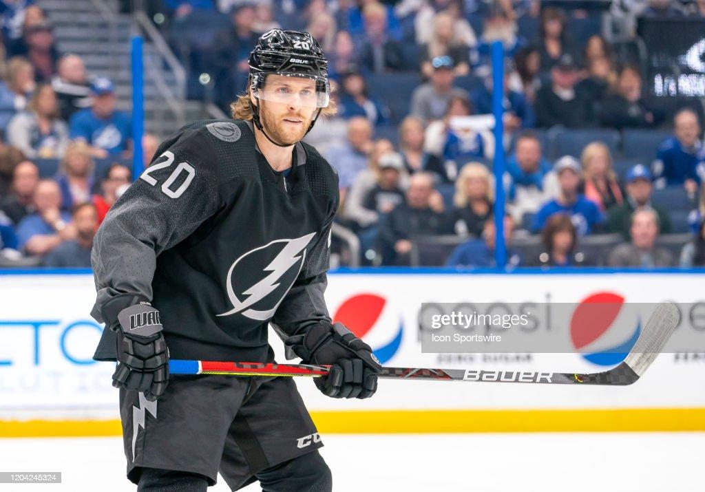 NHL: FEB 29 Flames at Lightning : News Photo