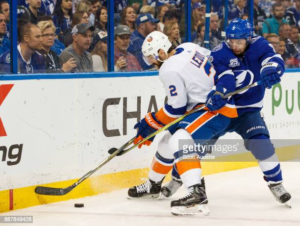 Tampa Bay Lightning defeat the New York Islanders 62 at Amalie Arena on December 5 2017 in Tampa Florida