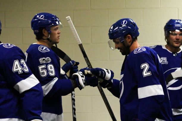 nhl sep 20 preseason lightning at hurricanes pictures getty images