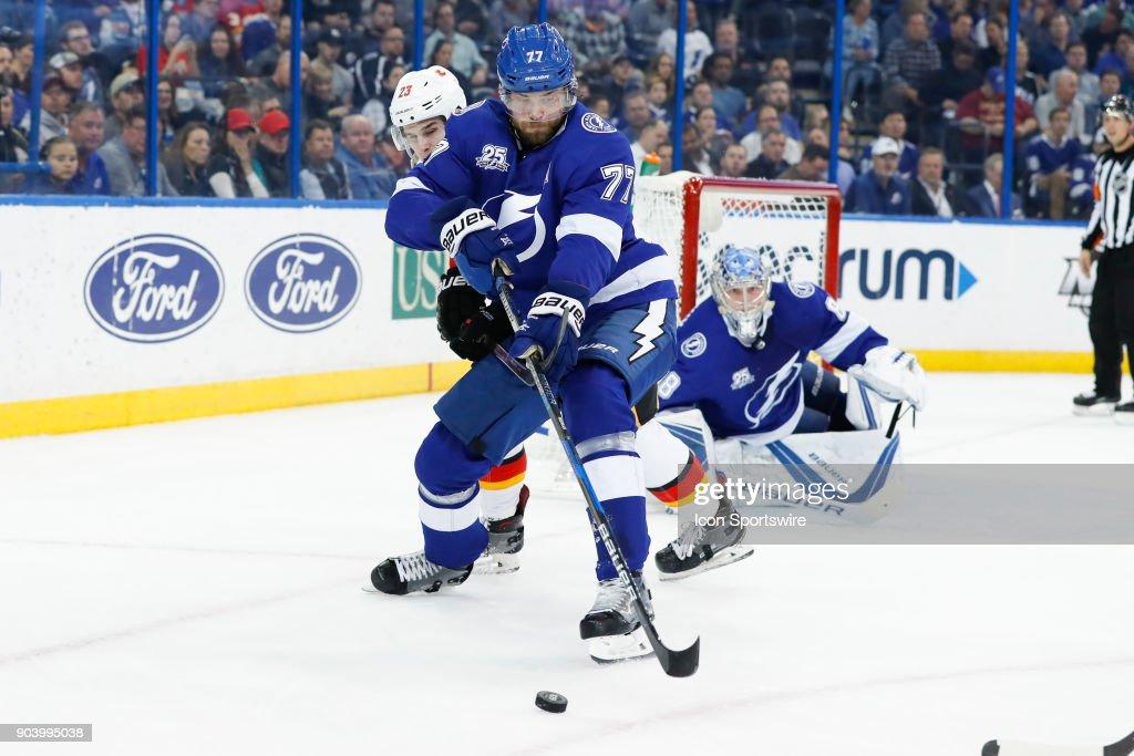NHL: JAN 11 Flames at Lightning : News Photo