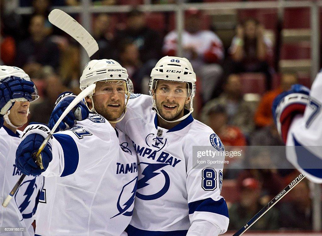 NHL: NOV 15 Lightning at Red Wings : News Photo