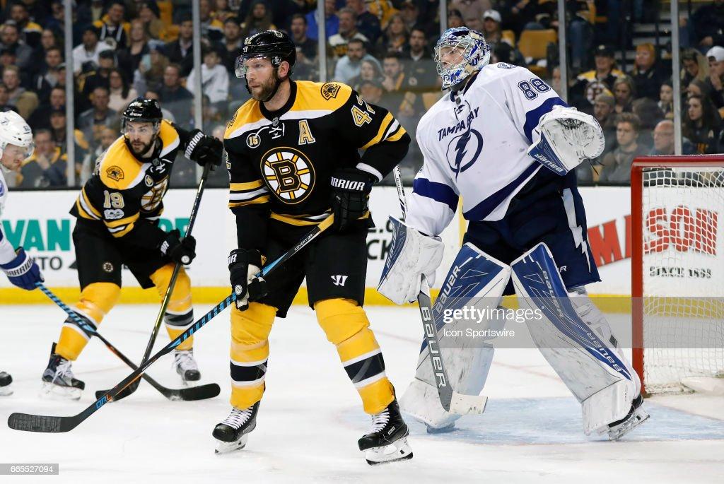 NHL: APR 04 Lightning at Bruins : News Photo