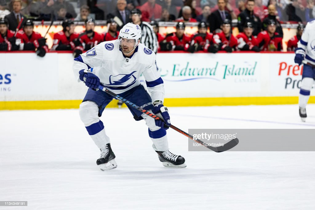 NHL: APR 01 Lightning at Senators : News Photo