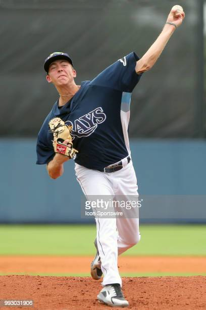 2018 Tampa Bay Rays first round pick 18yearold lefthander Matthew Liberatore makes his professional debut as the starting pitcher for the GCL Rays...