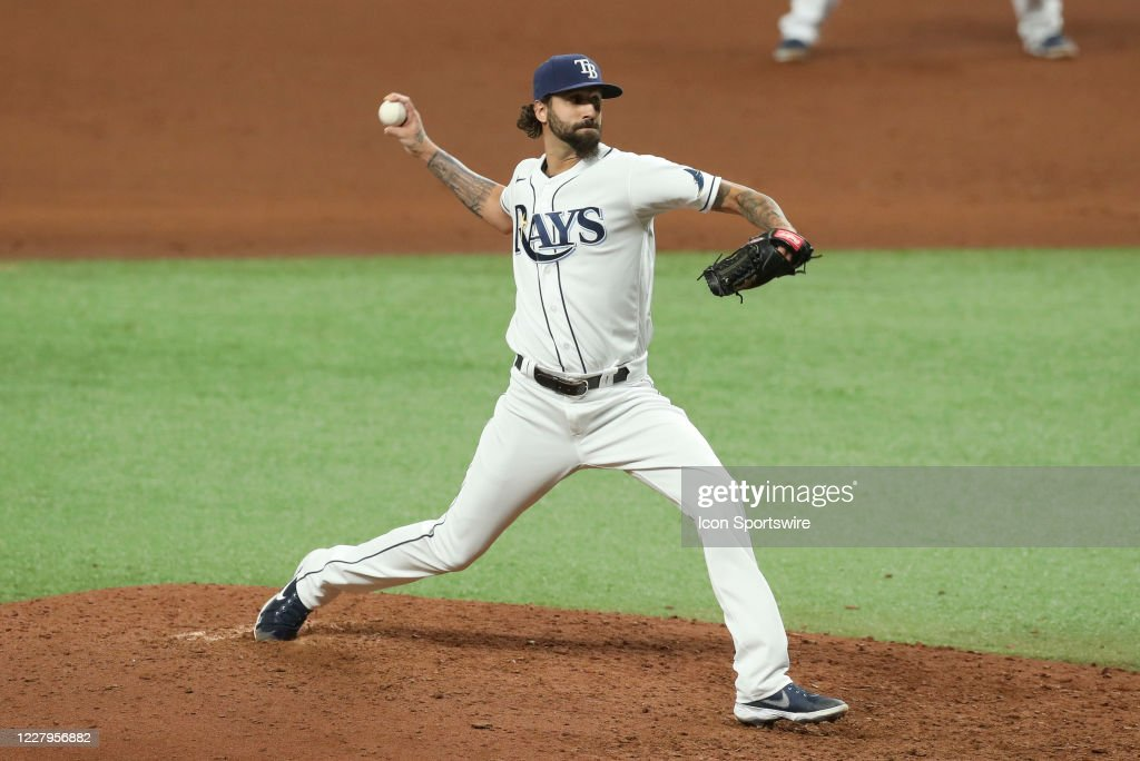 MLB: AUG 07 Yankees at Rays : News Photo