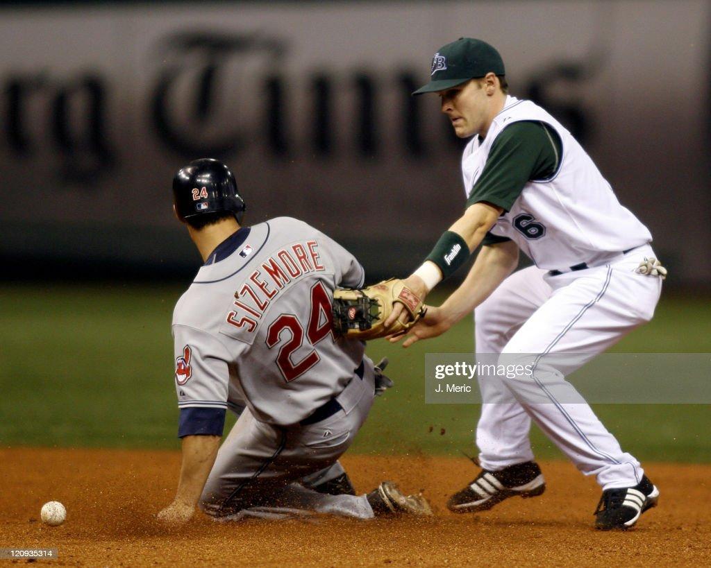 Tampa Bay Devil Rays vs Cleveland Indians - April 20, 2007