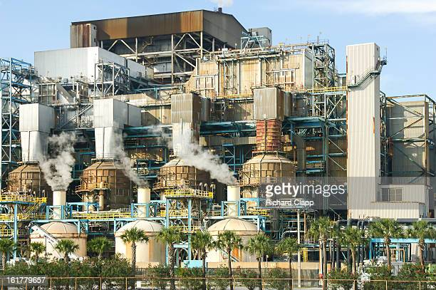 CONTENT] Tampa Electric Power Company coal fired electricity generating facility at Apollo Beach FL The warm water outfall from this facility...