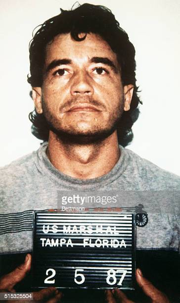 Carlos Enrique Lehder Rivas a former Colombian politician accused of heading a ring responsible for smuggling 74 percent of the Cocaine used in the...