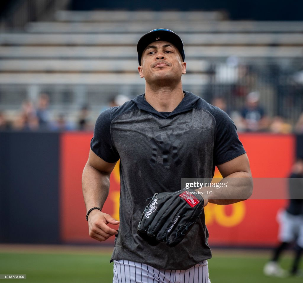 New York Yankees Of Giancarlo Stanton During Spring Training In News Photo Getty Images