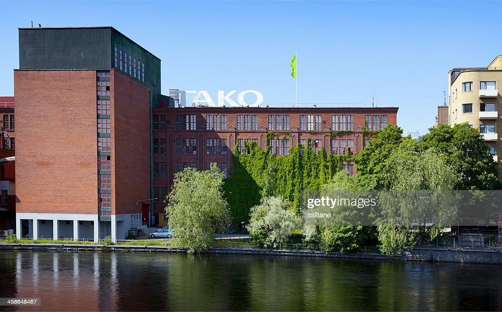 Tampere Finland Factory : Stock Photo