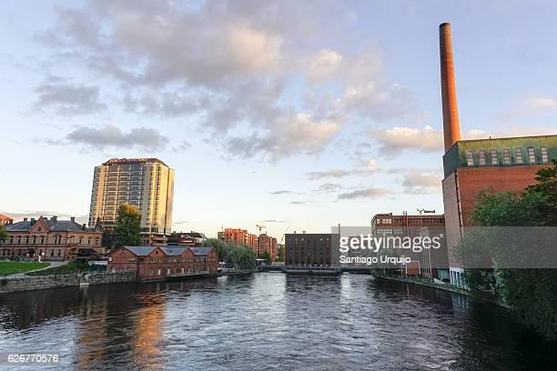 Tampere skyline