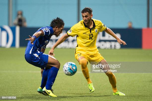 Tampines Rovers FC vs Felda United FC during the AFC Cup 2017 Group G match at the Jalan Besar Stadium on 21 February 2017 in Singapore Singapore