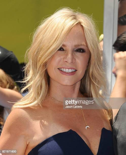 Tamra Judge attends the premiere of The Emoji Movie at Regency Village Theatre on July 23 2017 in Westwood California