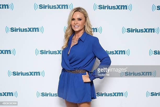 Tamra Judge visits the SiriusXM Studios on July 13 2015 in New York City