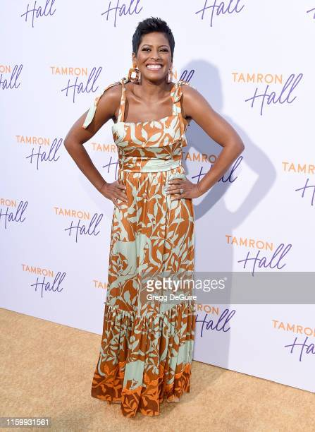 Tamron Hall arrives at ABC's TCA Summer Press Tour Carpet Event on August 5 2019 in West Hollywood California