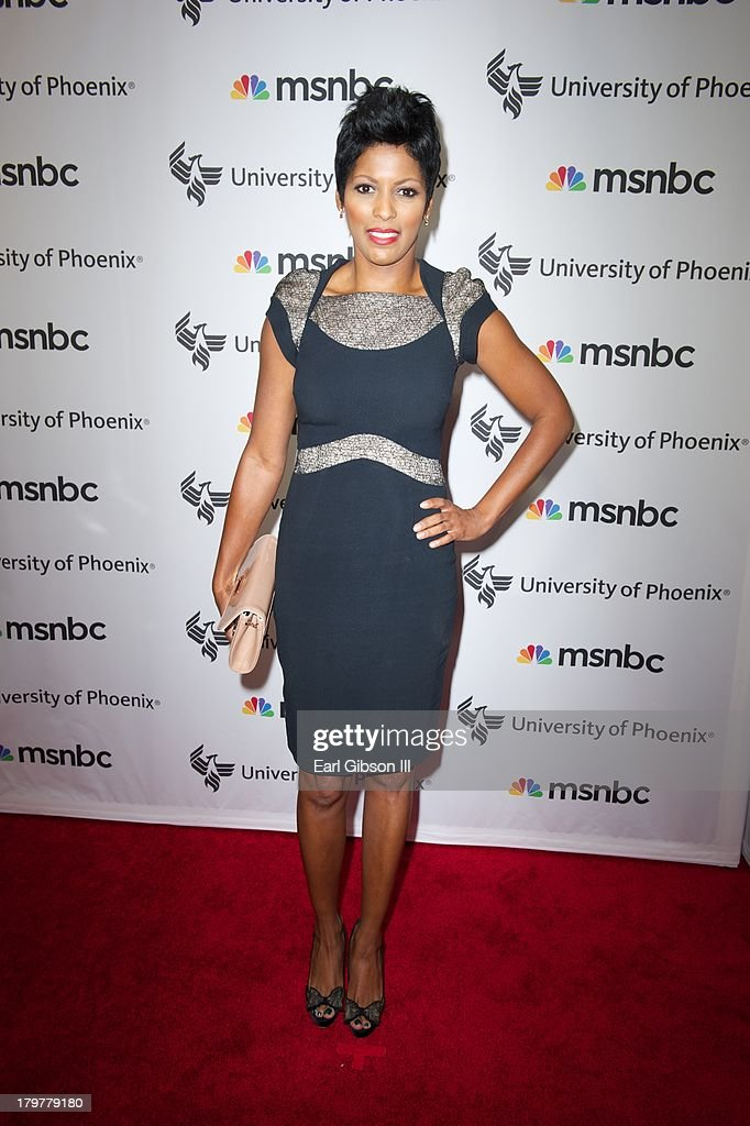 Tamron Hall attends 'Advancing The Dream' live at The Apollo Theater on September 6, 2013 in New York City.