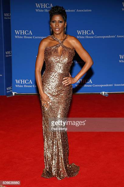 Tamron Hall attends the 102nd White House Correspondents' Association Dinner on April 30 2016 in Washington DC