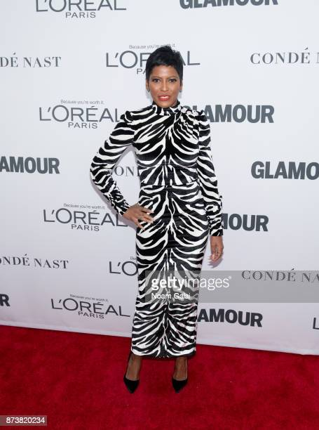 Tamron Hall attends the 2017 Glamour Women of The Year Awards at Kings Theatre on November 13 2017 in New York City
