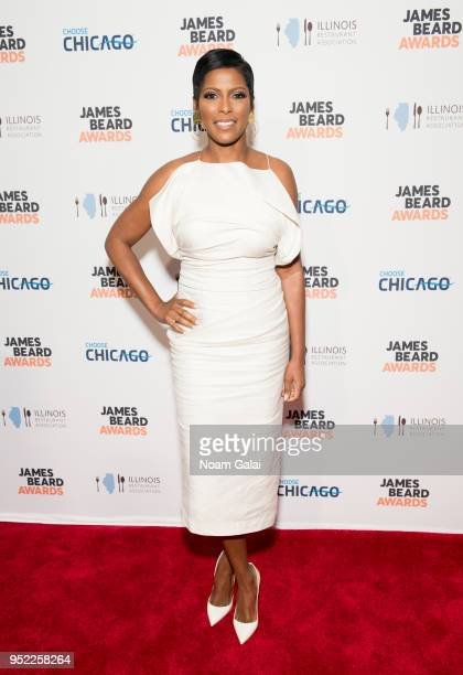 Tamron Hall attends the 2018 James Beard Media Awards at Pier Sixty at Chelsea Piers on April 27 2018 in New York City