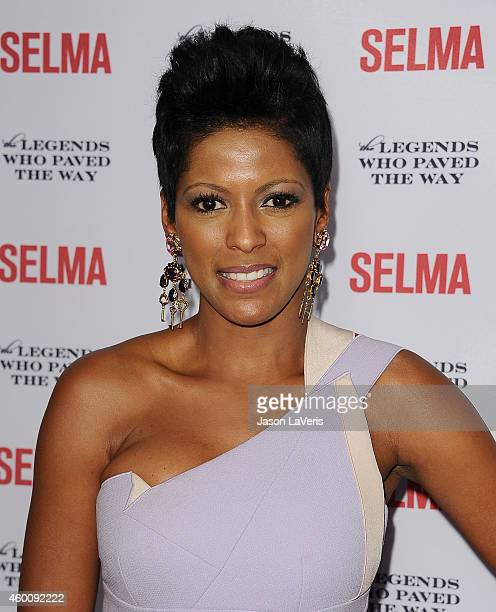 Tamron Hall attends the Selma and the Legends Who Paved the Way gala at Bacara Resort on December 6 2014 in Goleta California