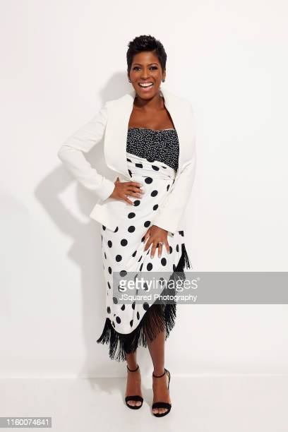 Tamron Hall of the show 'Tamron Hall' poses for a portrait during the 2019 Summer TCA Portrait Studio at The Beverly Hilton Hotel on August 05 2019...