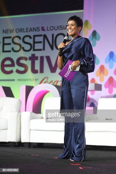 Tamron Hall speaks onstage at the 2017 ESSENCE Festival presented by CocaCola at Ernest N Morial Convention Center on June 30 2017 in New Orleans...