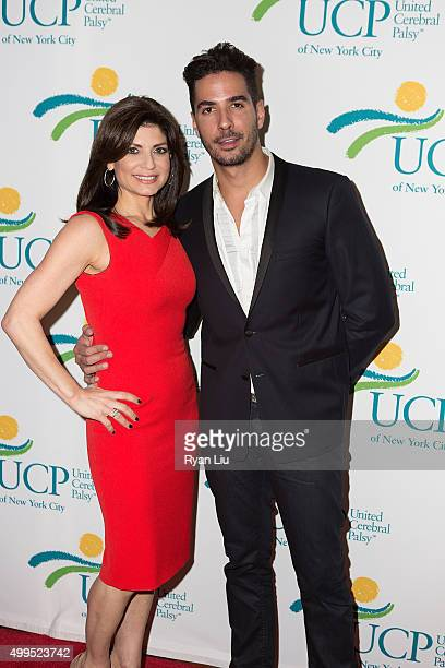 Tamsen Fadal and Javier Gomez attend the 6th Annual UCP Of NYC Santa Project Party and auction benefiting United Cerebral Palsy of New York City at...