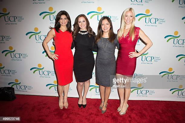 Tamsen Fadal Teresa Priolo Ines Rosales and Liza Huber attend the 6th Annual UCP Of NYC Santa Project Party and auction benefiting United Cerebral...