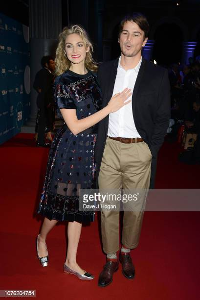 Tamsin Egerton and Josh Hartnett attend the 21st British Independent Film Awards at Old Billingsgate on December 02 2018 in London England