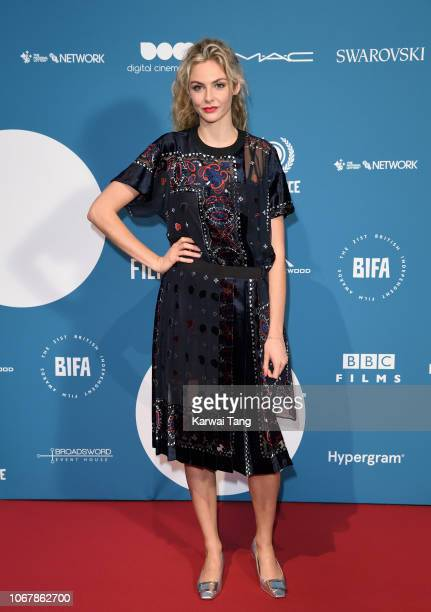 Tamsin Egerton attends the 21st British Independent Film Awards at Old Billingsgate on December 2 2018 in London England