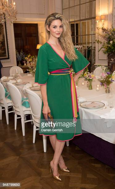 Tamsin Egerton attends the Boden Icons SS18 dinner at The Connaught Hotel on April 19 2018 in London England