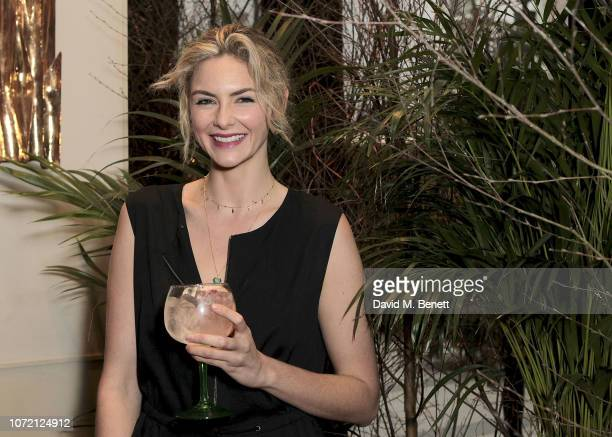 Tamsin Egerton attends the launch of Tanqueray No TEN and House of Hackney's exclusive partnership at Petersham Nurseries on December 12 2018 in...