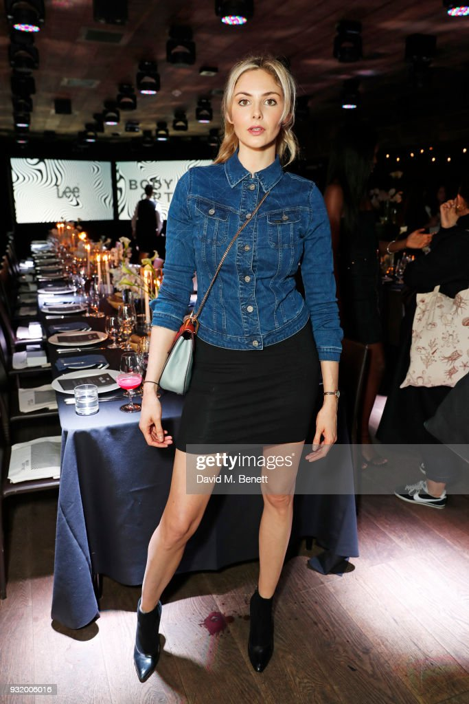 Tamsin Egerton attends the Lee Body Optix by Lee Jeans dinner at The London EDITION on March 14, 2018 in London, England.