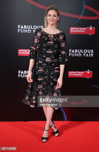 Tamsin Egerton attends the Naked Heart Foundation's Fabulous Fund Fair during London Fashion Week February 2018 at The Roundhouse on February 20 2018...
